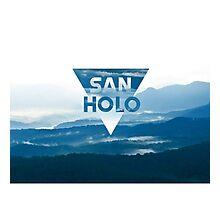 San Holo Blue Photographic Print