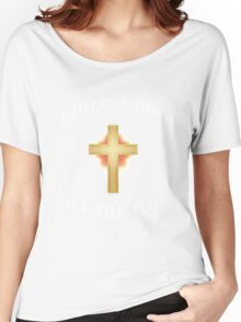 God Is Good All The Time Christian  Women's Relaxed Fit T-Shirt