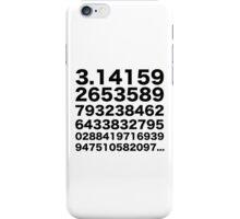 Pi number iPhone Case/Skin
