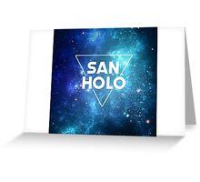 San Holo Space Greeting Card