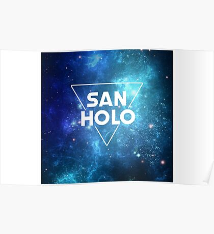 San Holo Space Poster
