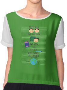 Awesome World Family Chiffon Top