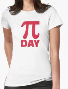 Pi Day Womens Fitted T-Shirt