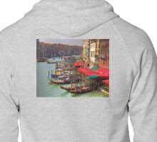 Parking Spaces (Venice Style) Zipped Hoodie
