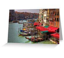 Parking Spaces (Venice Style) Greeting Card