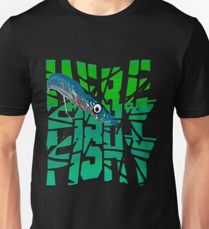 Funny Here Fishy Fishy Unisex T-Shirt