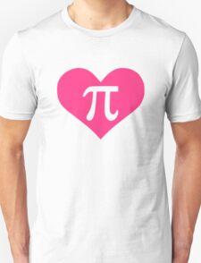 Pi heart Unisex T-Shirt