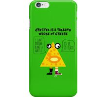 Chester the Cheese Wedge iPhone Case/Skin