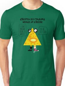 Chester the Cheese Wedge Unisex T-Shirt