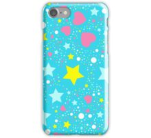 Abstract background with stars  iPhone Case/Skin