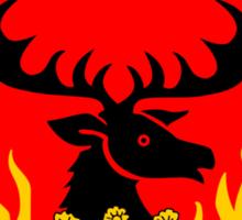 Game of Thrones - Baratheon House (Stannis) Sticker