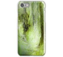 Cattail Fluff Abstract Pattern iPhone Case/Skin