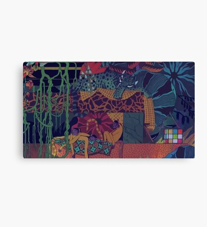 GLASS ANIMALS // JUNGLEBOOK Canvas Print