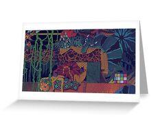 GLASS ANIMALS // JUNGLEBOOK Greeting Card