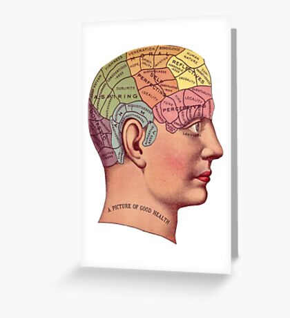 Good Brain Greeting Card