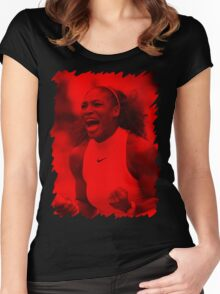 Serena Williams - Celebrity Women's Fitted Scoop T-Shirt