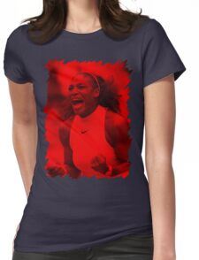 Serena Williams - Celebrity Womens Fitted T-Shirt