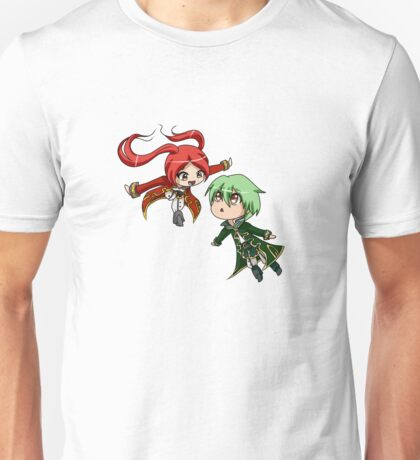 Super Smash Bros - Robins [Red/Green] Unisex T-Shirt