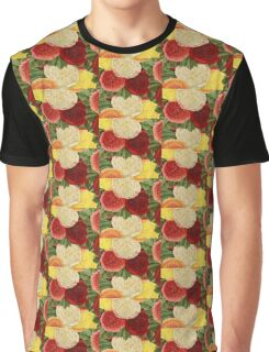 Country Garden Vibrant Floral  Graphic T-Shirt