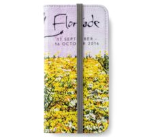 Floriade in bloom—calendar cover iPhone Wallet/Case/Skin