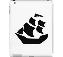 Pirate sail ship boat iPad Case/Skin