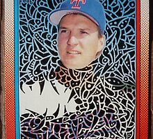 215 - Mike Jeffcoat by Foob's Baseball Cards