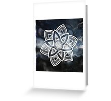Getting lost Greeting Card