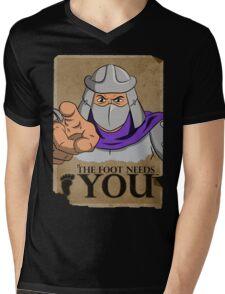 The Foot Needs You Mens V-Neck T-Shirt