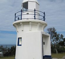 Ballina Lighthouse. Built 1866. N.S.W. Nth. Coast. Aust. by Rita Blom