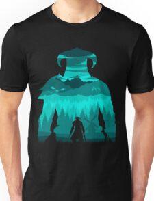 Dragonborn Silhouette Unisex T-Shirt