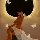 Fro and Butterflies by Shakira Rivers