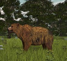 Grizzly Bear by Walter Colvin