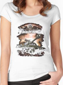 WORLD OF TANKS Women's Fitted Scoop T-Shirt