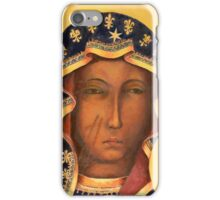 Polish Black Madonna, Our Lady of Czestochowa, Madonna and Child iPhone Case/Skin