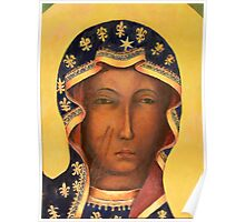 Polish Black Madonna, Our Lady of Czestochowa, Madonna and Child Poster