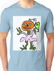 halloween Dancing Pumpkin Head Unisex T-Shirt