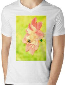 summer flower Mens V-Neck T-Shirt