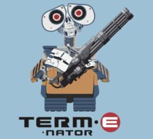 TERM E nator (The Terminator + WALL E mashup) by rydrew