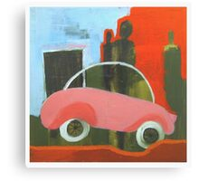 Road Tax Canvas Print