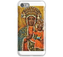 Our Lady of Czestochowa, Black Madonna Poland, Virgin Mary and Child Jesus iPhone Case/Skin