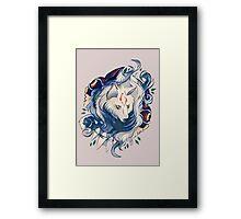 Monowolf Framed Print
