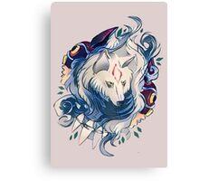Monowolf Canvas Print