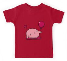 Little Pink Balloon Kids Tee