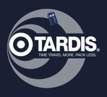 TARDIS / Target (Doctor Who + Target Store mashup) Kids Clothes