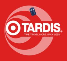 TARDIS / Target (Doctor Who + Target Store mashup) by rydrew