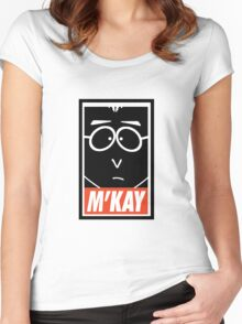 M'Kay Women's Fitted Scoop T-Shirt