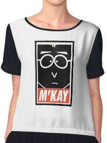 M'Kay Chiffon Top