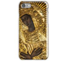 Black Madonna, Our Lady of Grace, Our Lady of the Gate of Dawn, Mother of Mercy iPhone Case/Skin