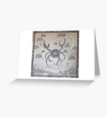 Cyber Crab Greeting Card