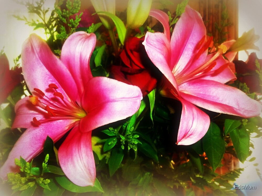 *Asiatic Lilies - beautiful in bouquet* by EdsMum